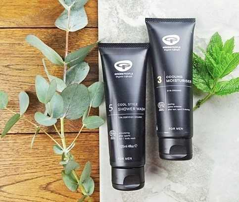 Men's body and facial care products