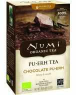 Chocolate pu-erh thee, biologische met chocoladesmaak