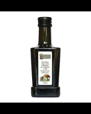 Amanprana Olivenöl Arbequina mit Boletus 250ml, Bio