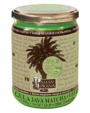 Gula Java Matcha + vitamine D