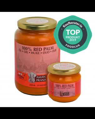 Amanprana Natives Rotes Palmenöl Extra und Bio