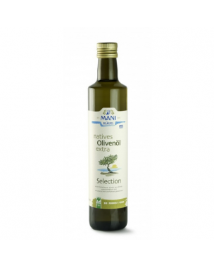 MANI extra virgin olive oil - Koroneiki 500ml, organic