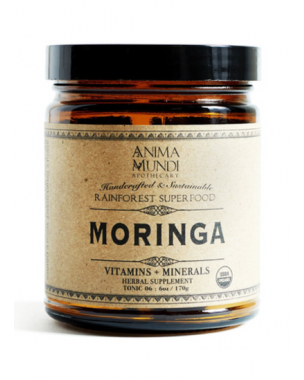 ANIMA MUNDI - SUPER HERBS  - Moringa, multivitamine naturelle, 113g