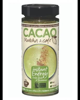 Cacao Matcha & Café 230g, bio