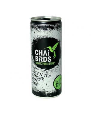 Chai Birds Energy Drink Grüntee 250 ml, bio