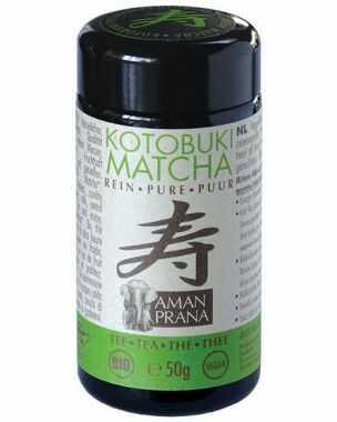 Amanprana Kotobuki Matcha Thee, Biologisch