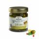MANI Groene olijven met venkel en roze peper in citroen-olijfolie 185g, bio