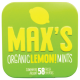 Max's Organic Lemon! Mints