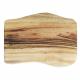 Amanprana Qi-board Snijplank L, organische vorm