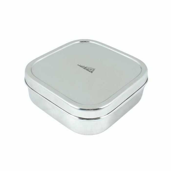 aad1b0a43e05 Stainless Steel Square Lunch Container