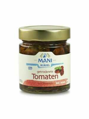 ΜΑΝΙ Getrocknete Tomaten in Olivenöl 180g, bio
