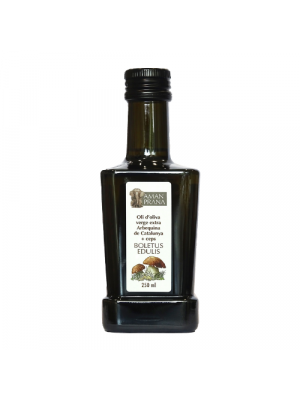 Amanprana Arbequina olive oil with Boletus 250 ml, organic