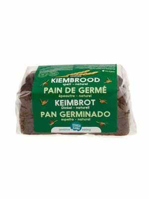 TerraSana Speltbrood gekiemd naturel 400g, bio