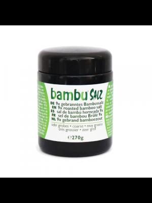 Bambu Salz Bamboezout 9x gebrand zeer grof 100g