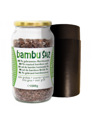 Bambu Salz Bamboezout 9x gebrand zeer grof 270g