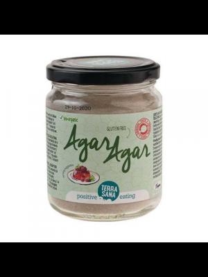 TerraSana Agar agar - vegane Gelatine, 120g