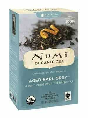 Aged Earl Grey – Organic black tea from India with a citrus-like taste of Bergamot
