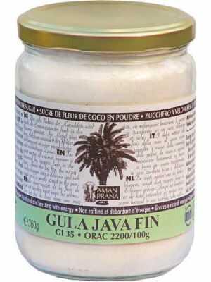 Amanprana Gula Java Fin - Kokosbloesem poedersuiker. Bio en Fair World