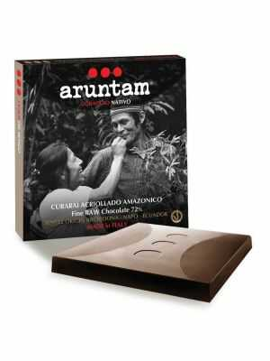 Aruntam Coraggio Nativo - Curarai Acriollado Archidona - Aromatic, spicy, dark, vegan chocolate of Napo, Ecuador