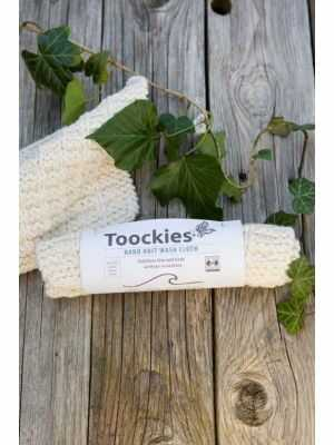 Washcloth Toockies - Handmade, organic cotton, Fair Trade