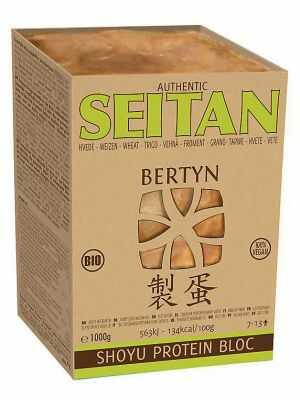 Seitan Shoyu Protein Bloc 1 kilo - 1000 g