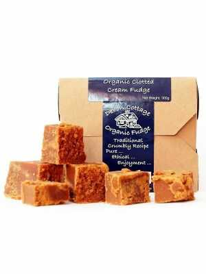 Fudge - biologische, handgemaakte Clotted Cream Fudge uit Devon, Engeland - gecertificeerd Fairtrade