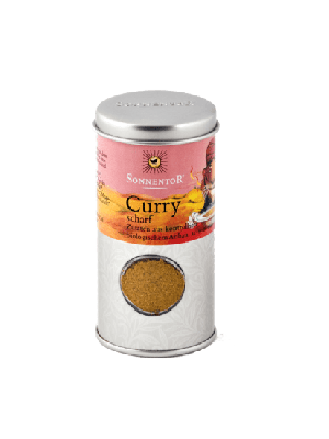 SONNENTOR, Curry Spicy - 45g, organic - spice tin