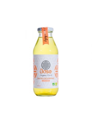 BASE ORGANIC FOOD | Kokoswasser Kurkuma 350ml, bio