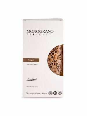 Monograno Felicetti Pasta Ditalini / FARRO 500g, bio