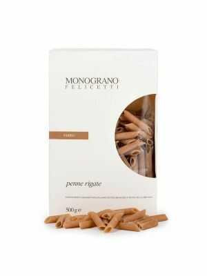 Monograno Felicetti Pasta Penne Rigate / FARRO 500g, bio