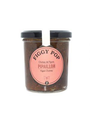 PIPAILLON | Figgy Pop - fig chutney 212ml, organic