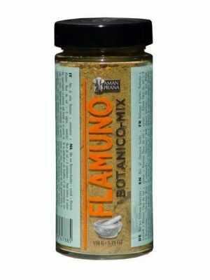 Flamuno Botanico mix mit kurkuma und mit Khoisan fleur de sel