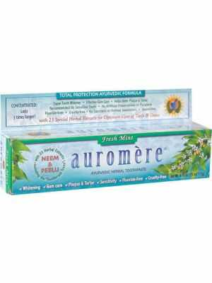 Auromère Fresh Mint: 100% natural, ayurvedic toothpaste