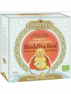 Hari Tea Buddha Box - Musterbox mit 11 verschiedenen Hari Tea Geschmacksrichtungen