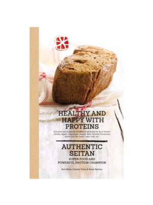 Book: Healthy and happy with protein, seitan