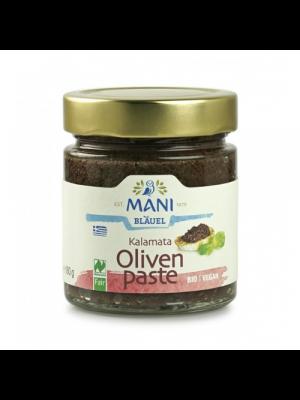 ΜΑΝΙ Tapenade aux olives Kalamata 180g, bio