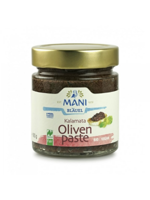 MANI Kalamata Olive Tapenade 180g, organic