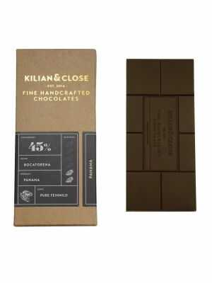 Chocolate 45 percent cocoa - Pure Panama - without milk, without soy - Kilian & Close