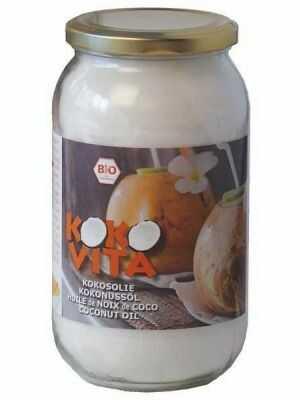 Kokovita coconut oil, odourless, organic, 1L