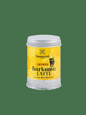 Kurkuma Latte gember 60 g, bio - blikje