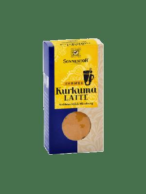 Kurkuma Latte gember 60 g, bio - pakje