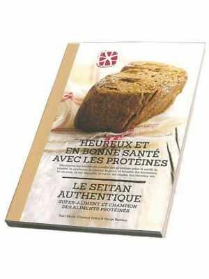 Livre: Heureux et en bonne santé avec les protéines, Seitan