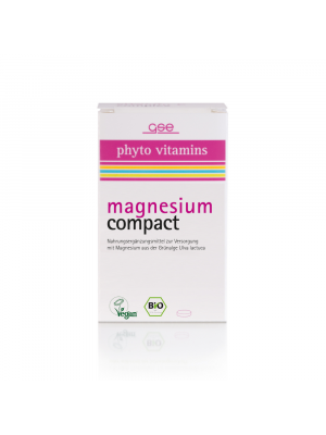 GSE Magnesium Compact, 60 Tabletten (37g) bio
