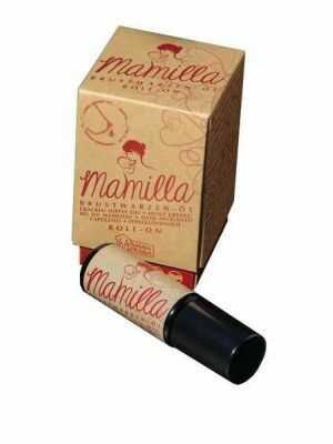 Mamilla Brustwarzenöl - In Glas verpackt und gegen UV-Strahlung geschützt