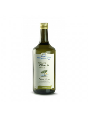 MANI extra virgin olive oil - Koroneiki 1000ml, organic
