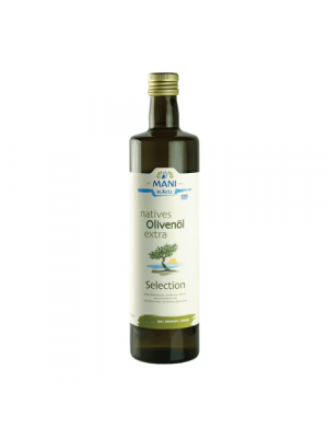MANI extra virgin olive oil - Koroneiki 750ml, bio