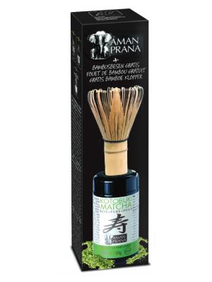 Amanprana Kotobuki Matcha bio + fouet de bambou GRATUIT