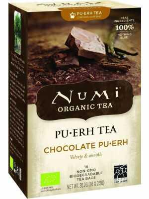 Chocolate pu-erh thee, biologische afslankthee met chocoladesmaak