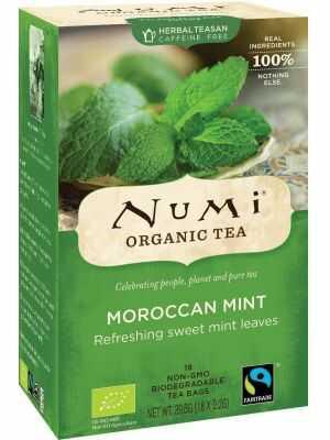 Moroccan Mint – cafeïnevrije muntthee van Numi met spearmintsmaak