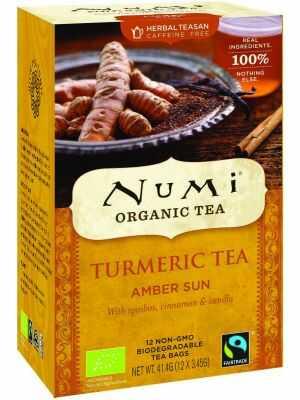 Amber Rose - kurkuma thee, met rooibos, kaneel & vanille